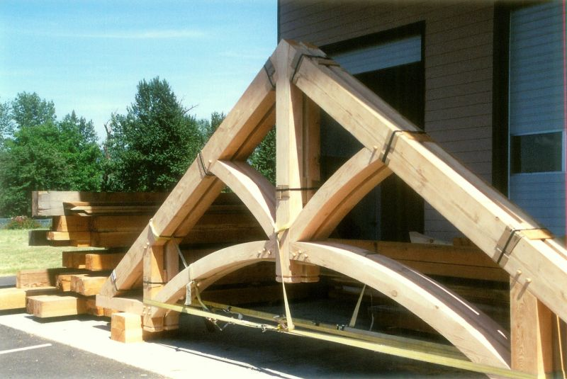 Heavy Timber Trusses & Heavy Timber Trusses « Swiftsure Timberworks