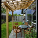 Small Patio Arbor of Port Orford Cedar