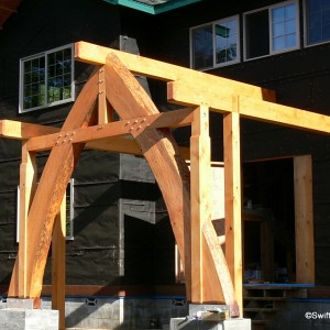 Timber Accents & Entryways