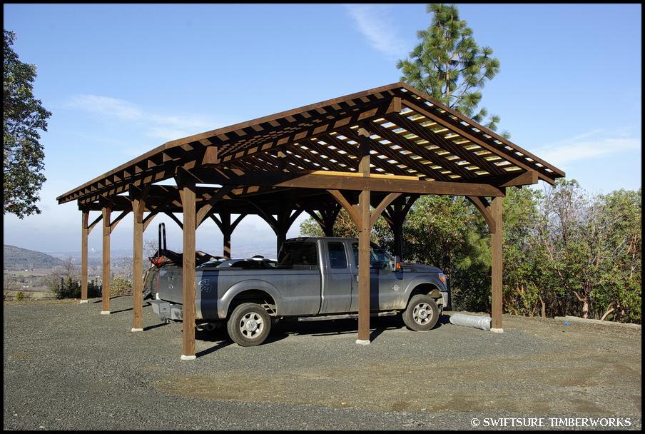 Timber Frame Carport Plans Home Design