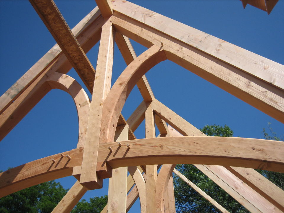 Heavy Timber Trusses 171 Swiftsure Timberworks